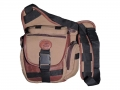 Camera Bag option 2 – leather and canvas combo