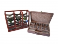 Drinks case and wine rack