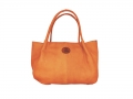 Khami Handbag soft skin in mopane