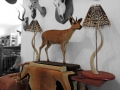Duiker and lamps