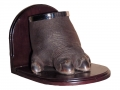 Hippo foot bookend