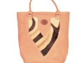 Zanzi bag softskin mopane & zebra hide