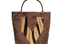 Zanzi bag elephant leather & zebra hide